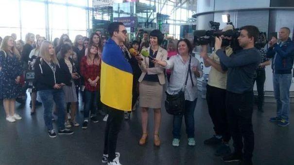 Евровидение-2018: Мelovin проигнорировал журналистов из РФ